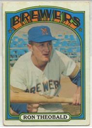 1972 Topps Baseball Cards      077      Ron Theobald RC